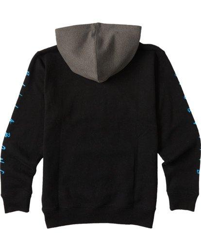 1 Boys' (2-7) United Pullover Hoodie Black ABTFT00100 Billabong
