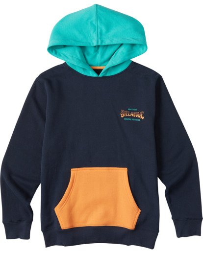 0 Boys' (2-7) United Pullover Hoodie Multicolor ABTFT00100 Billabong