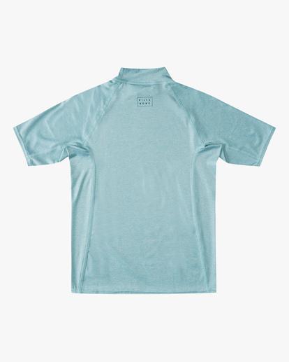 1 Boys' (2-7) All Day Wave Performance Fit Short Sleeve Rashguard Multicolor ABTWR00105 Billabong
