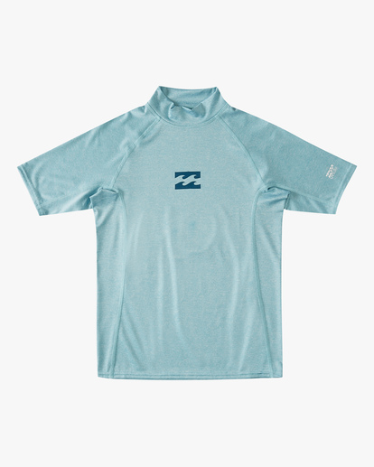 0 Boys' (2-7) All Day Wave Performance Fit Short Sleeve Rashguard Multicolor ABTWR00105 Billabong