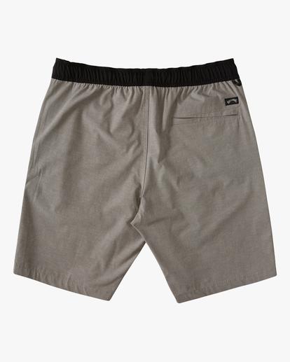 1 Boys' (2-7) Crossfire Elastic Walkshort Grey ABTWS03001 Billabong