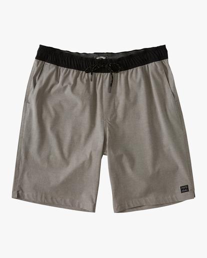 0 Boys' (2-7) Crossfire Elastic Walkshort Grey ABTWS03001 Billabong