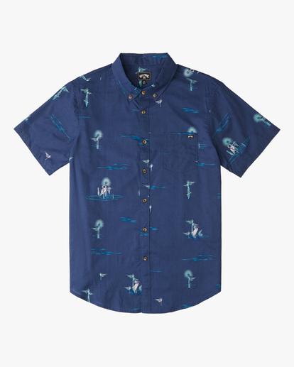 0 Boys' (2-7) Sundays Mini Short Sleeve Shirt Brown ABTWT00102 Billabong