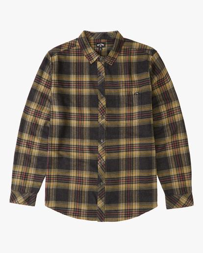 0 Boys' (2-7) Coastline Flannel Shirt Black ABTWT00105 Billabong