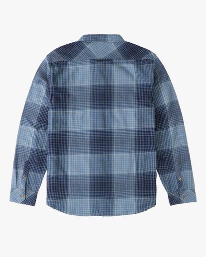 1 Boys' (2-7) Coastline Flannel Shirt Blue ABTWT00105 Billabong