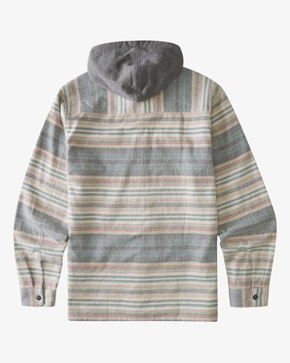 1 Boys' (2-7) Baja Flannel Shirt Orange ABTWT00106 Billabong