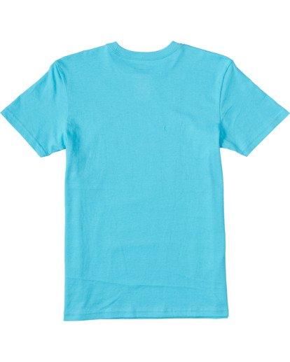 1 Boys' (2-7) Access Short Sleeve T-Shirt Blue ABTZT00100 Billabong