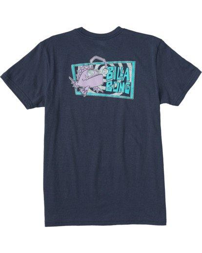 1 Boys' (2-7) Angler Short Sleeve T-Shirt Blue ABTZT00101 Billabong