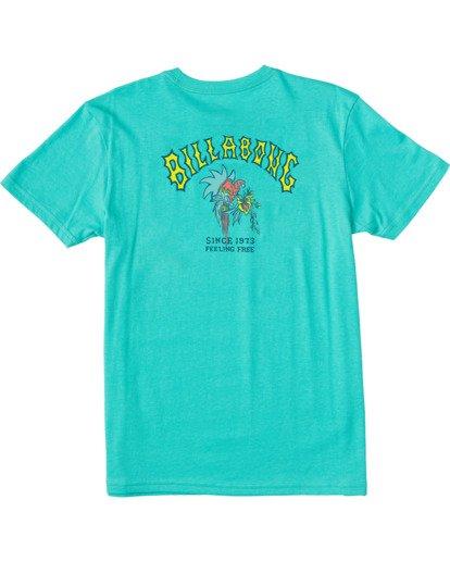 1 Boys' (2-7) Arch Short Sleeve T-Shirt Grey ABTZT00102 Billabong
