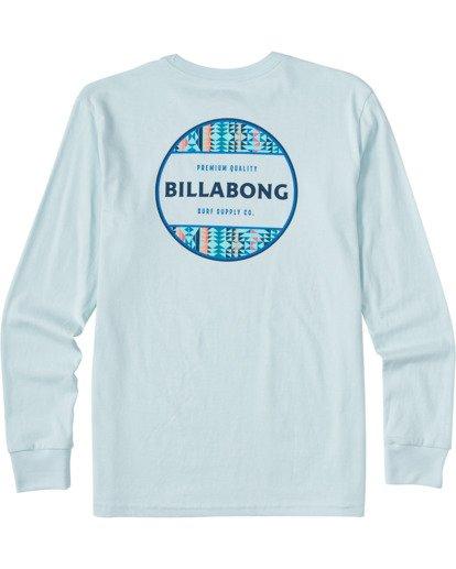 1 Boys' (2-7) Rotor Long Sleeve T-Shirt Blue ABTZT00109 Billabong