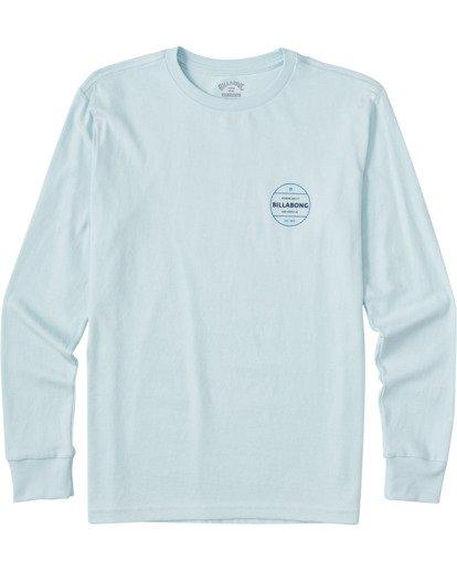 0 Boys' (2-7) Rotor Long Sleeve T-Shirt Blue ABTZT00109 Billabong