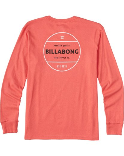 1 Boys' (2-7) Rotor Long Sleeve T-Shirt Orange ABTZT00109 Billabong