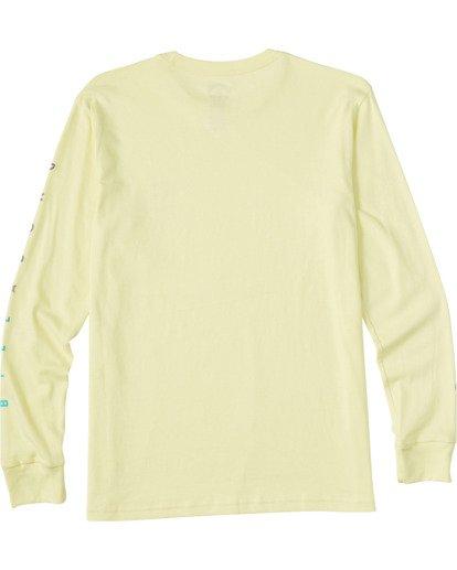 1 Boys' (2-7) Unity Long Sleeve T-Shirt Yellow ABTZT00110 Billabong