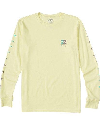 0 Boys' (2-7) Unity Long Sleeve T-Shirt Yellow ABTZT00110 Billabong
