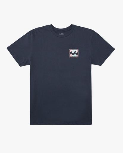 0 Boys' (2-7) Crayon Wave Short Sleeve T-Shirt Blue ABTZT00118 Billabong