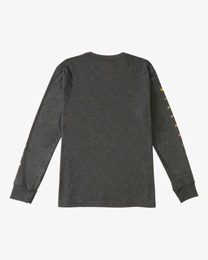 1 Boy's (2-7) Unity Long Sleeve T-Shirt Black ABTZT00124 Billabong