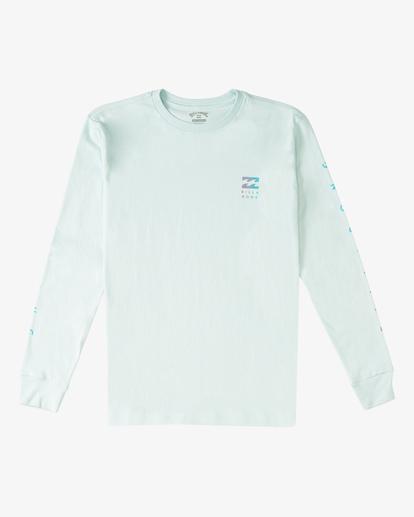 0 Boy's (2-7) Unity Long Sleeve T-Shirt Blue ABTZT00124 Billabong