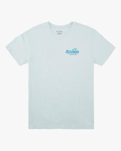 0 Boys' (2-7) Lounge Short Sleeve T-Shirt Blue ABTZT00139 Billabong