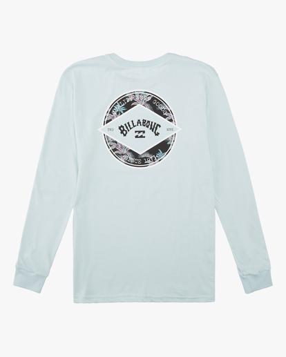 1 Boys' (2-7) Rotor Arch Long Sleeve T-Shirt Blue ABTZT00140 Billabong