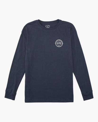 0 Boys' (2-7) Rotor Arch Long Sleeve T-Shirt Blue ABTZT00140 Billabong