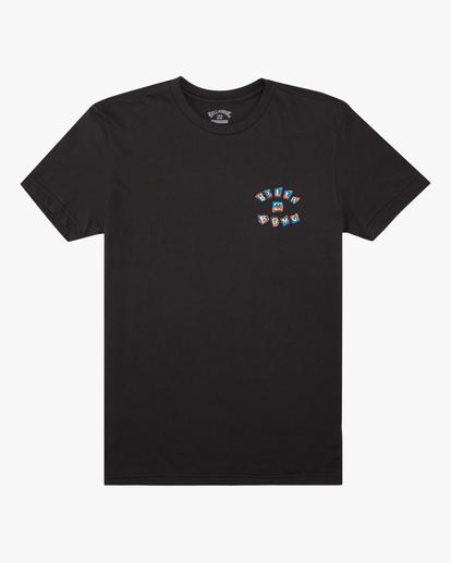 0 Boys' (2-7) Sharky Short Sleeve T-Shirt Black ABTZT00144 Billabong