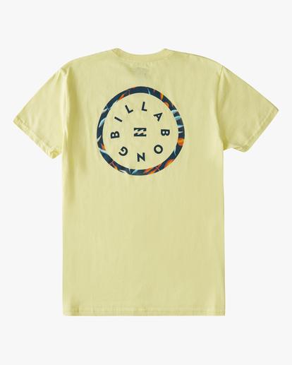 1 Boys' (2-7) Rotor Short Sleeve T-Shirt Yellow ABTZT00146 Billabong