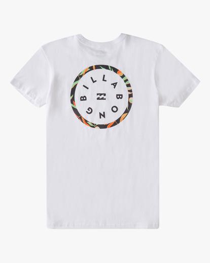 1 Boys' (2-7) Rotor Short Sleeve T-Shirt White ABTZT00146 Billabong