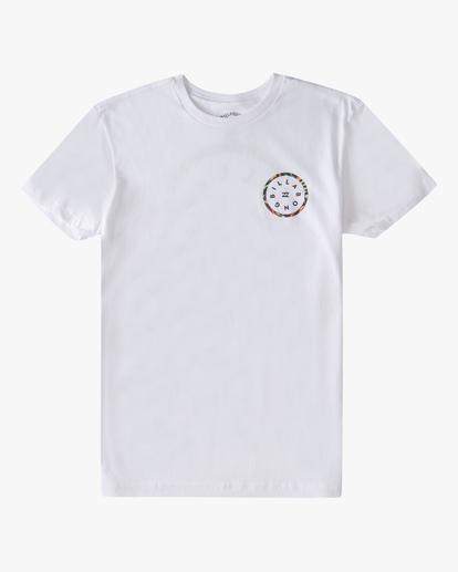 0 Boys' (2-7) Rotor Short Sleeve T-Shirt White ABTZT00146 Billabong