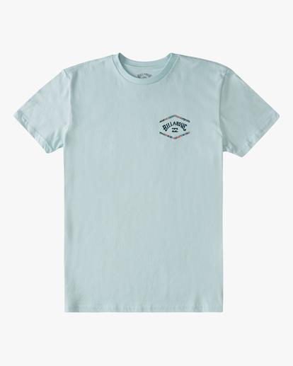 0 Boys' (2-7) Entry Arch Short Sleeve T-Shirt Blue ABTZT00148 Billabong