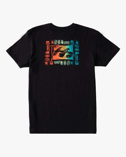 1 Boys' (2-7) Crayon Wave Short Sleeve T-Shirt Black ABTZT00149 Billabong