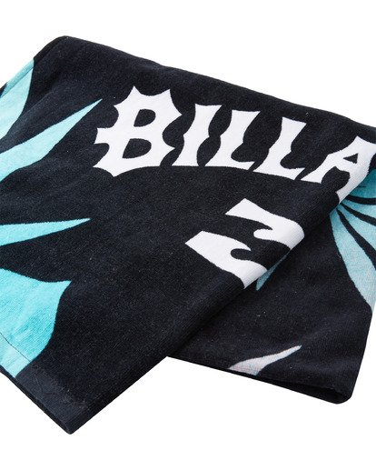 1 Waves Beach Towel Black ABYAA00108 Billabong