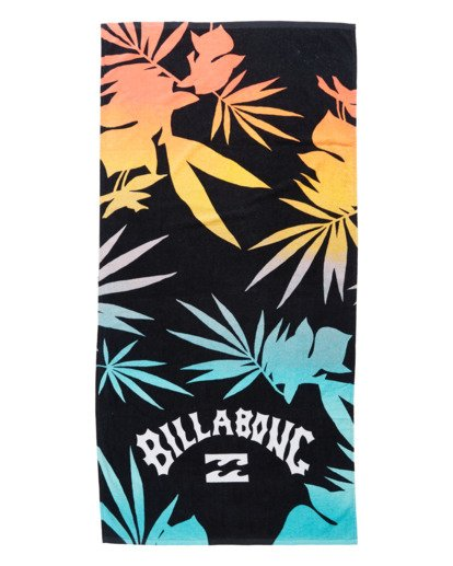 0 Waves Beach Towel Black ABYAA00108 Billabong