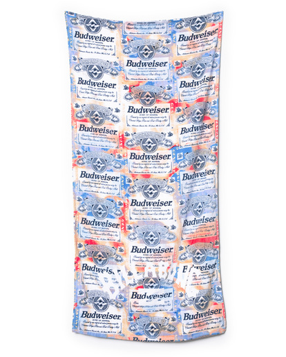 1 Budweiser Suds Towel Red ABYAA00136 Billabong