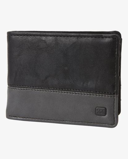 0 Dimension Bi-Fold Wallet Black ABYAA00145 Billabong