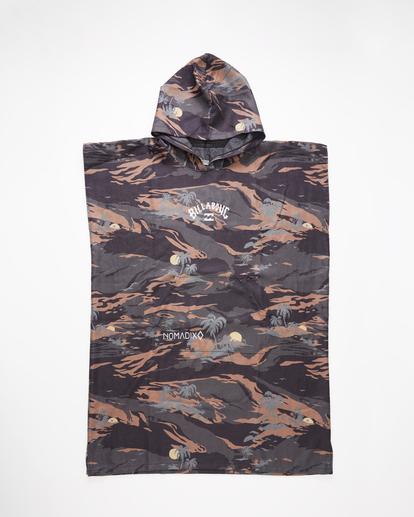 1 Nomadix x A/Div Hooded Poncho Black ABYAA00151 Billabong