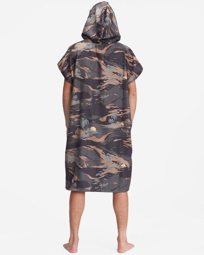 5 Nomadix x A/Div Hooded Poncho Black ABYAA00151 Billabong