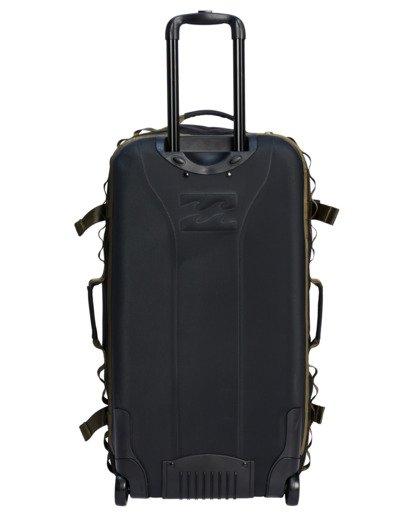 2 A/Div Surftrek Roller Travel Bag Black ABYBL00104 Billabong