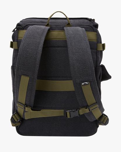3 A/Div Kings Hemp Rucksack Backpack Black ABYBP00103 Billabong