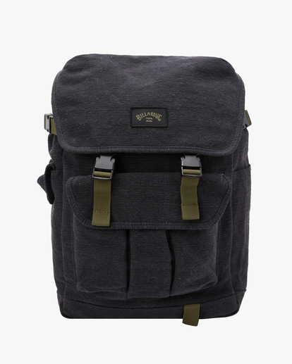 0 A/Div Kings Hemp Rucksack Backpack Black ABYBP00103 Billabong