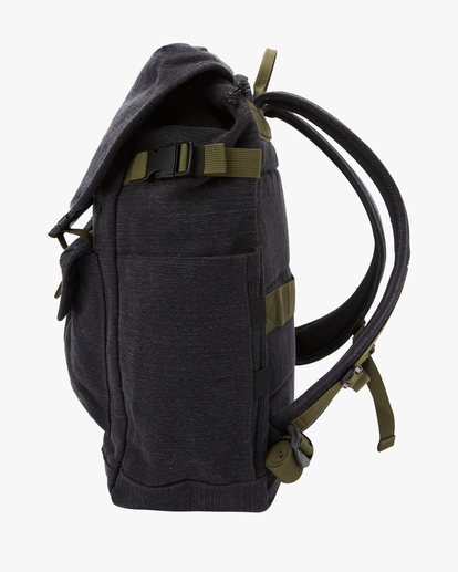 2 A/Div Kings Hemp Rucksack Backpack Black ABYBP00103 Billabong