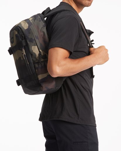 3 Command Skate Backpack Black ABYBP00108 Billabong
