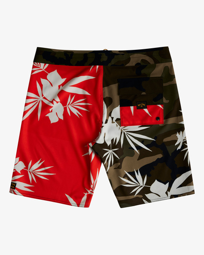 """1 Sundays Airlite Boardshorts 19"""" Red ABYBS00101 Billabong"""
