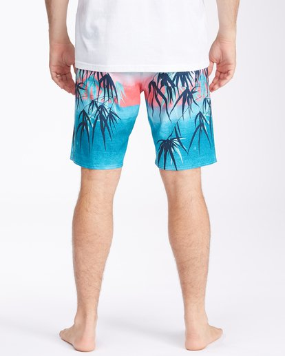 """5 Sundays Airlite Boardshorts 19"""" Multicolor ABYBS00101 Billabong"""