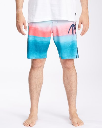 """2 Sundays Airlite Boardshorts 19"""" Multicolor ABYBS00101 Billabong"""