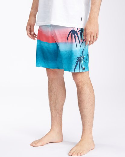 """3 Sundays Airlite Boardshorts 19"""" Multicolor ABYBS00101 Billabong"""
