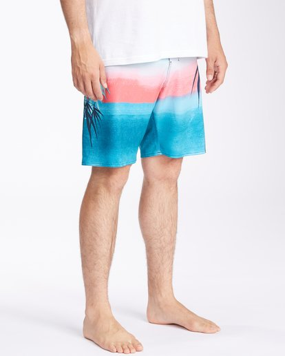 """4 Sundays Airlite Boardshorts 19"""" Multicolor ABYBS00101 Billabong"""