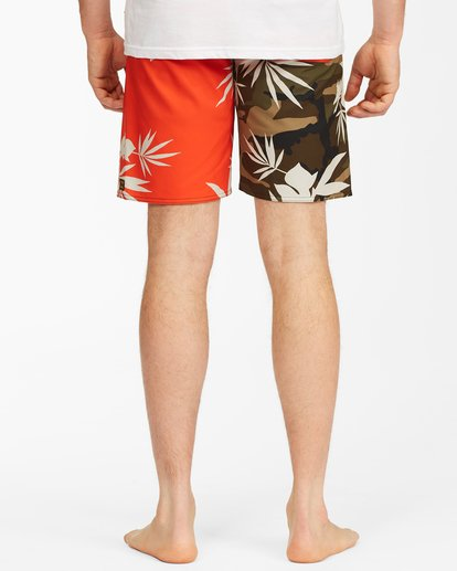 """5 Sundays Airlite Boardshorts 19"""" Red ABYBS00101 Billabong"""