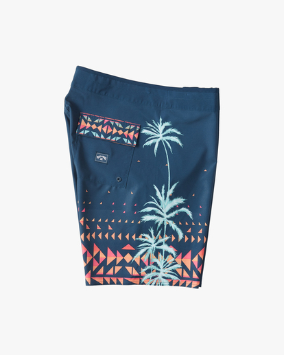 "3 D Bah Airlite Boardshorts 19"" Brown ABYBS00102 Billabong"