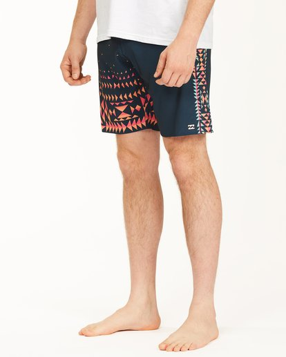 "5 D Bah Airlite Boardshorts 19"" Brown ABYBS00102 Billabong"