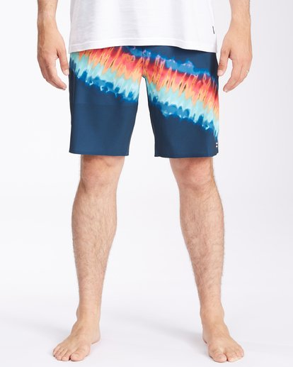 """2 T Street Airlite Boardshorts 19"""" Blue ABYBS00103 Billabong"""